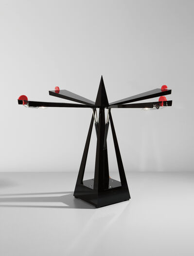 "Yonel Lebovici, 'Prototype ""Métronome"" lamp', circa 1984"