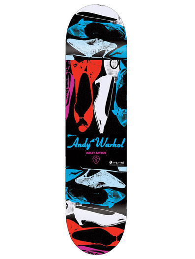 Andy Warhol, 'Andy Warhol Shoes Skateboard Deck New', ca. 2010
