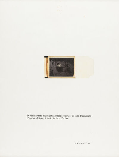 Franco Vaccari, 'Untitled', 1976