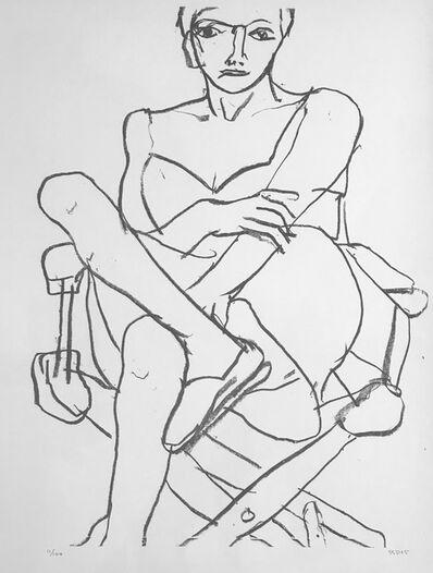 Richard Diebenkorn, 'Seated woman in chemise', 1965