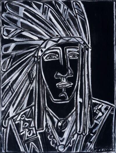 America Martin, 'Raven Headdress'