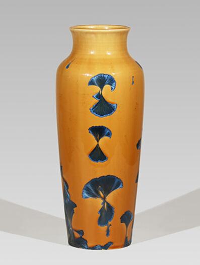 Hongwei Li, 'Pilgerflasche, splash peacock blue glaze', 2017