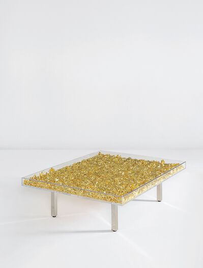 """Yves Klein, '""""Table d'or""""', designed 1961"""