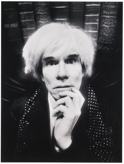 David LaChapelle, 'Andy Warhol: Last Sitting, November 22th, 1986', 1986