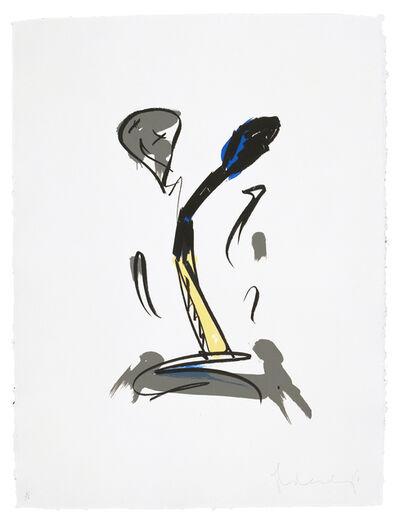 Claes Oldenburg, 'Extinguished Match', 1990