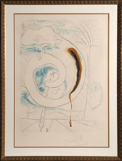 Salvador Dalí, 'Le cercle visceral du Cosmos from La Conquete du Cosmos', 1974