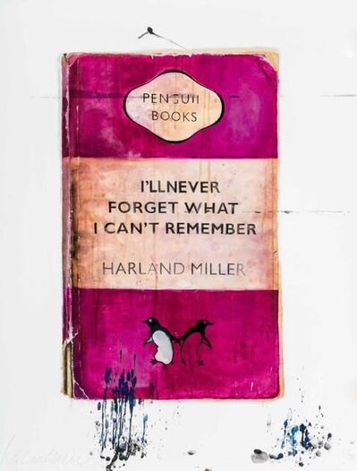 Harland Miller, 'I'll Never Forget What I Can't Remember ', 2010