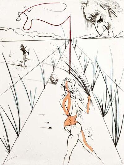 Salvador Dalí, 'Venus in Furs Suite: Whips Alley', 1969