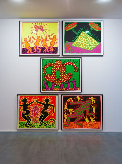 Keith Haring, 'Fertility Series', 1983