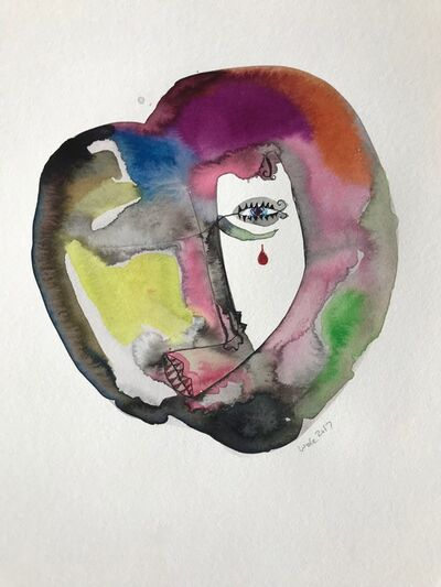 Wole Lagunju, 'Clichee tears III', 2017