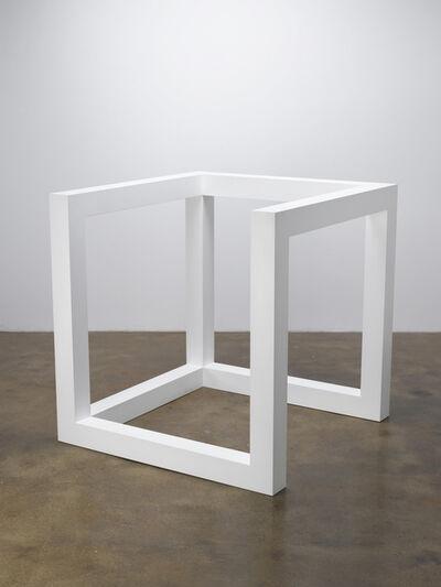 Sol LeWitt, 'Incomplete Open Cube 10/4', 1974