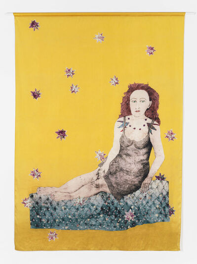 Kiki Smith, 'Sitting with a Snake', 2007