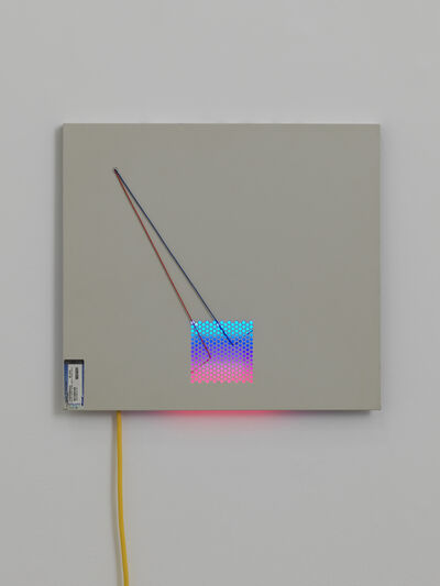 Haroon Mirza, '06:04 Home Edition (LED Circuit composition 17', 2016