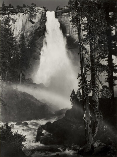 Ansel Adams, 'Nevada Fall, Yosemite National, Park, California', 1950