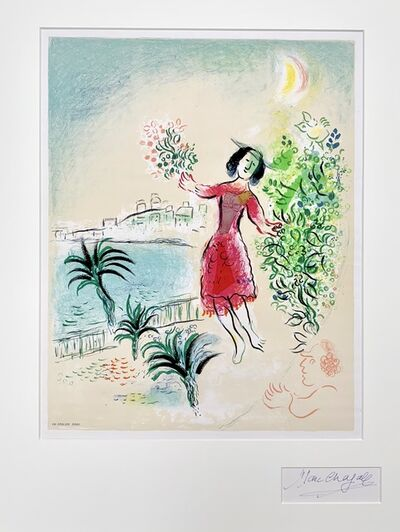 Marc Chagall, 'Baie des Anges', 1970