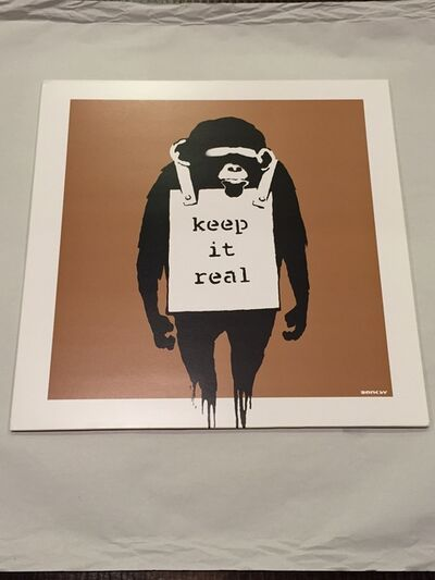 Banksy, 'Keep it Real/Laugh Now cover', 2008