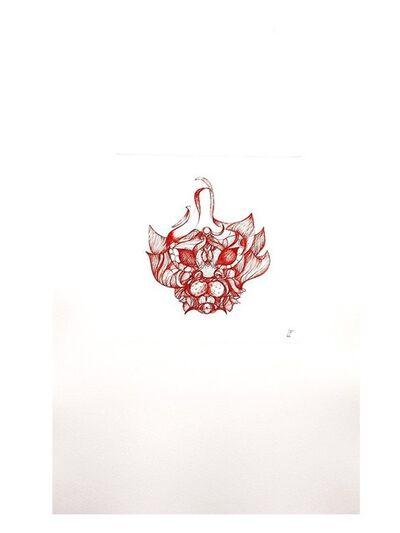 Leonor Fini, 'Leonor Fini - Imagination of a Red Cat - Original Engraving', 1985