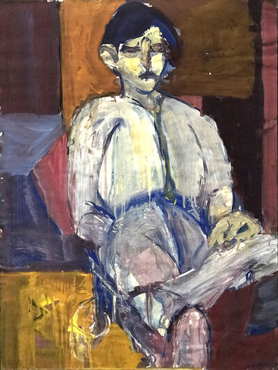 Ted Diamond, 'Untitled (Young Boy Seated Crossed Leg) ', 1984