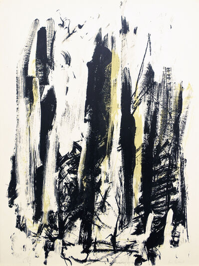 Joan Mitchell, 'Trees (Jaune/noir)', 1990