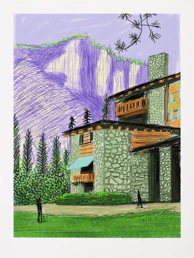 David Hockney, 'The Yosemite Suite No. 23', 2010