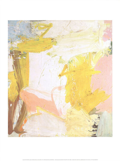 Willem de Kooning, 'Rosy-Fingered Dawn At Louse Point', 2018