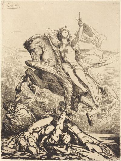 François-Nicolas Chifflart, 'Genius of the Arts', 1865