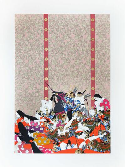Hideo Takeda, 'Kiso Yoshinaka Entering the Capital ', 1985-1999
