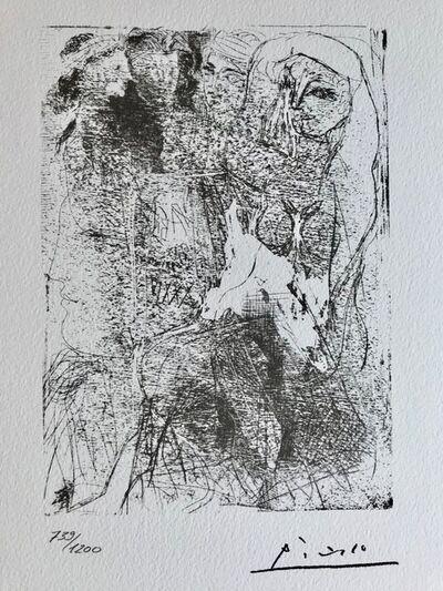 Pablo Picasso, 'Suite Vollard Planche XVIII', 1973
