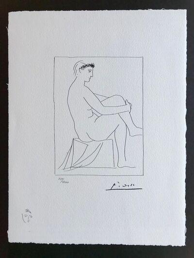 Pablo Picasso, 'Femme nue couronnée de fleurs (Suite Vollard Planche I)', 1973