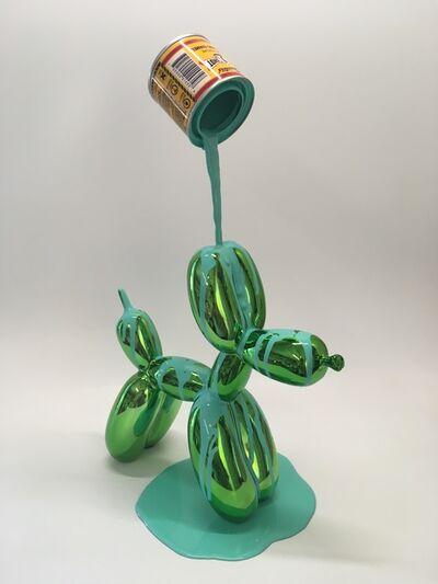 Joe Suzuki, 'Balloon Puppy (Green)', 2018