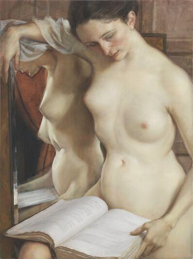 John Currin, 'The Reader', 2010