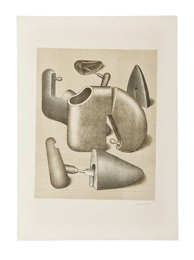 Konrad Klapheck, 'Schuhspanner (der Harem)', 1967-1968