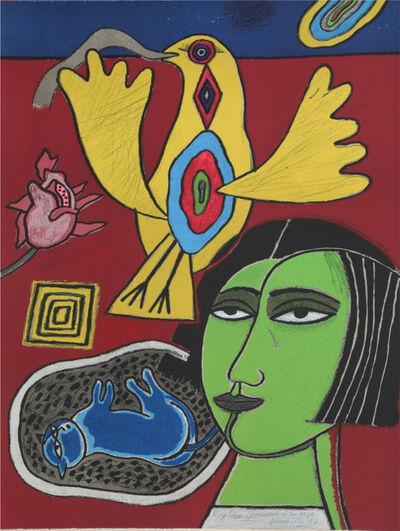 Guillaume Corneille, ' Journée à la rose', 1994