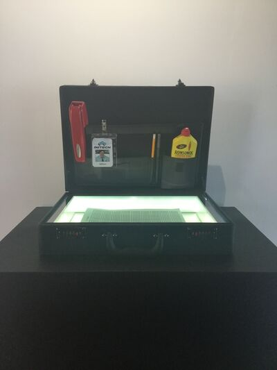 ZMK, 'ZMK, Milton's Briefcase', 2019