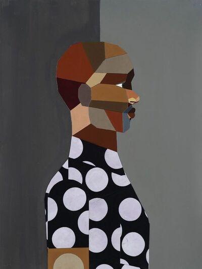 Derrick Adams, 'Figure Walking Into The Light', 2018