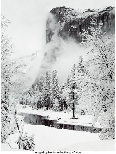 Ansel Adams, 'El Capitan, Winter, Yosemite National Park, California'