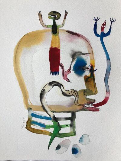 Wole Lagunju, 'Drawing I ', 2017
