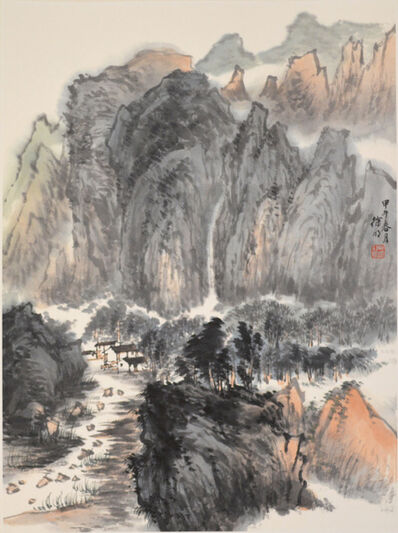 Xu Ming, 'Waterfall and Mountain', 2014