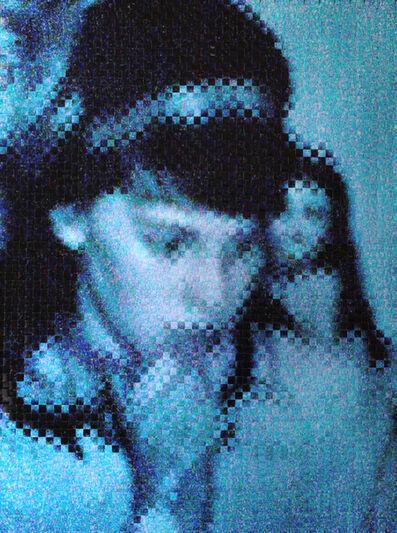 Sebastian Klug, 'Blaues Portrait', 2014