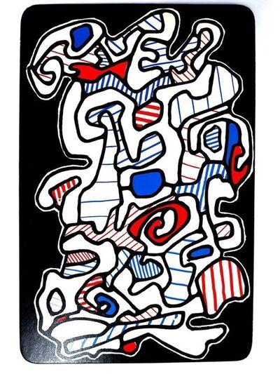 "Jean Dubuffet, 'Card ""The Gypsy"" by Jean Dubuffet', 1967"