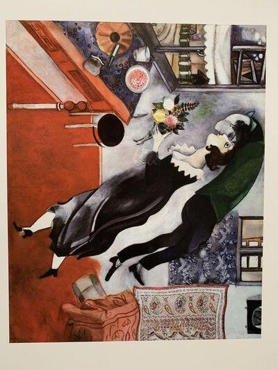 "Marc Chagall, 'MARC CHAGALL ""BIRTHDAY"" 1915 MCGAW GRAPHICS, MUSEUM OF MODERN ART NEW YORK', 1995"