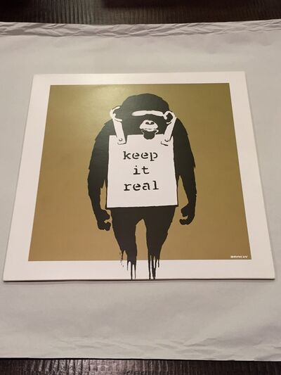 Banksy, 'Keep It Real/Laugh Now (Danger Mouse Cover)', 2008