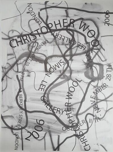 Christopher Wool, 'Simon Lee Gallery', 2006