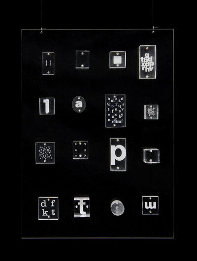 Mira Schendel, 'Untitled, from the Little Stubs series', c. 1970