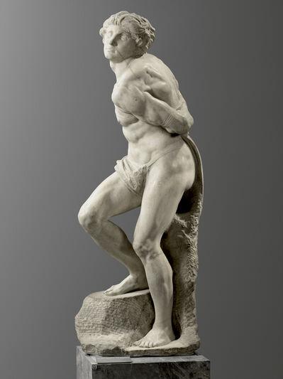 Michelangelo Buonarroti, 'L'Esclave rebelle (The Rebellious Slave)', Started in 1513