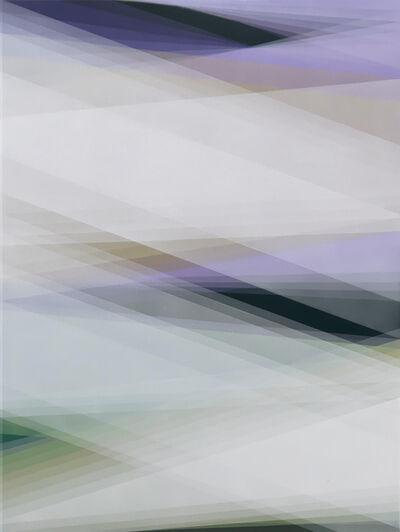 Bernadette Jiyong Frank, 'Untitled (violet-ochre-green)', 2017