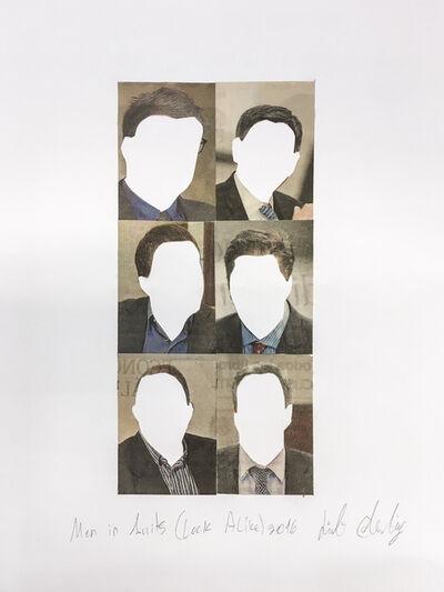 Liat Elbling, 'Men in Suits (Look Alike)', 2016
