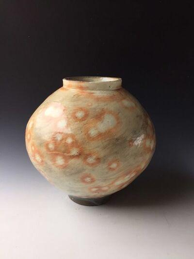 Kang Hyo Lee, 'Buncheong Moon Jar', 2016