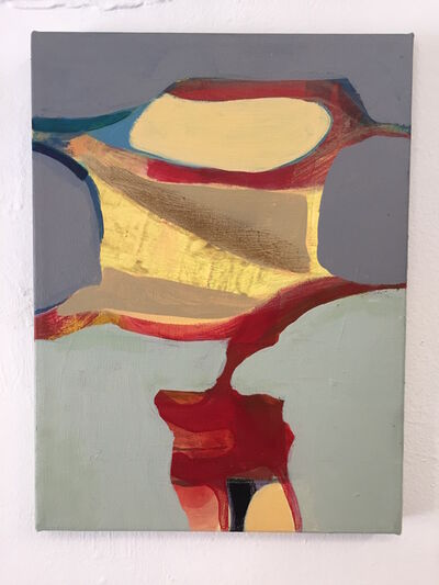 Pat Goslee, 'Untitled with Red ', 2015