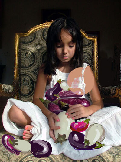 Shelley Laffal, 'Eggplant Princess'
